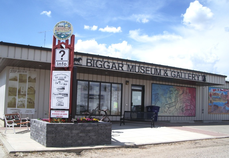 Biggar Museum & Gallery, P.O. Box 1598, 105- 3rd Ave. West, Biggar, Saskatchewan, S0K0M0, Canada